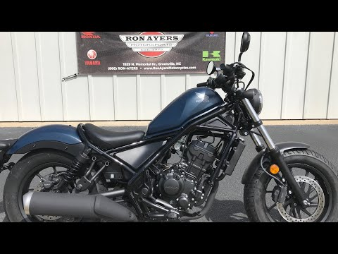 2020 Honda Rebel 300 in Greenville, North Carolina - Video 1