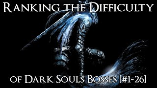 Gambar cover Ranking the Dark Souls Bosses from Easiest to Hardest [#1-26]