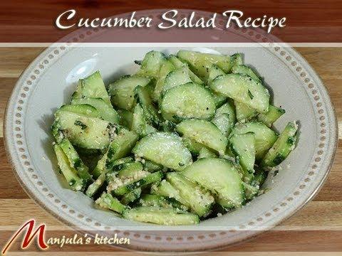 Cucumber Salad – A World Class Recipe by Manjula