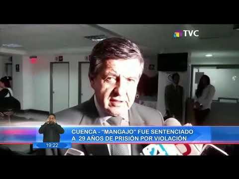 """, title :'Cuenca: """"Mangajo"""" fue sentenciado a 29 años de prision'"""