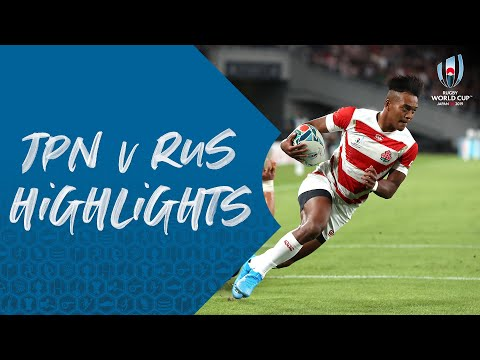 Highlights: Japan beat Russia in RWC 2019 Opener