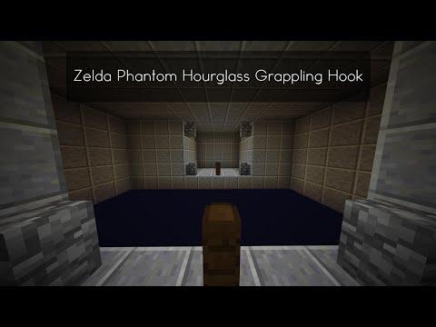 Grappling Hook Zelda Phantom Hourglass Minecraft Project