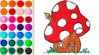 Drawing of Amanita House for Children, Children