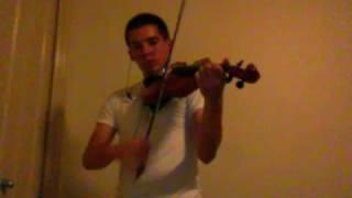 Gimme That (Remix) (Violin Cover) - Chris Brown - Nathan Hutson