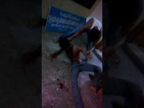 Friends fighting in hostel