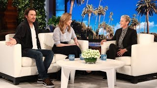 Jenna Fischer & Oliver Hudson Talk Their Chemistry and Brazilian Waxing