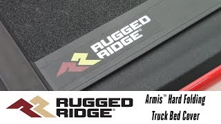 In the Garage™ with Performance Corner®: Rugged Ridge Armis™ Hard Folding Truck Bed Cover