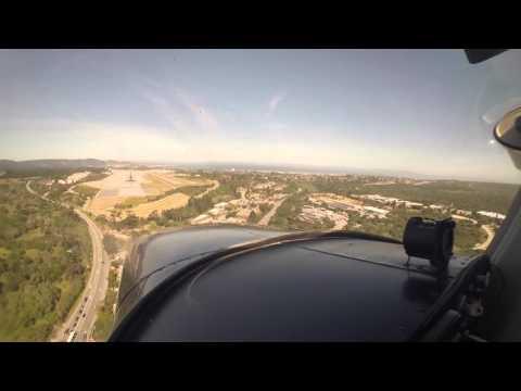 Flying to Monterey