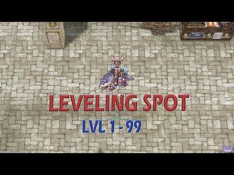 LEVELING SPOT RAGNAROK FOREVER LOVE Part 1 ( lvl 1-99 )