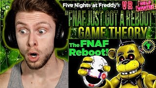 """Vapor Reacts #943   FNAF VR GAME THEORY """"FNAF Just Got A Reboot..."""" The Game Theorists REACTION!!"""