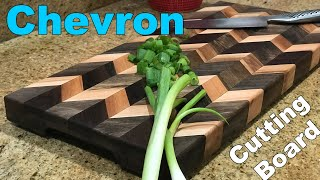 Chevron Cutting Board Tutorial