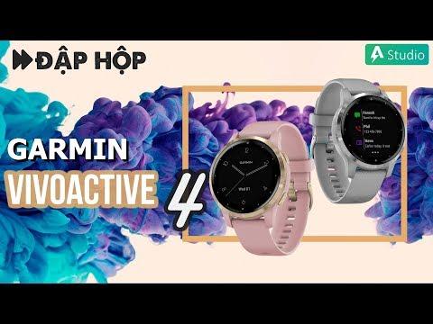 Đập hộp Đồng hồ thông minh đa thể thao GPS Garmin Vivoactive 4