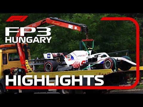 F1第11戦ハンガリーGP(ブタペスト)のFP3ハイライト動画