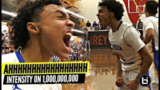 Jaelen House Is The Most INTENSE Player In HS! Shadow Mountain SHIP Game vs Duke Bound Boogie Ellis!