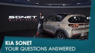 Sponsored | Kia Sonet: Your Questions Answered | carandbike