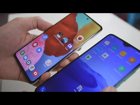 Samsung Galaxy A51 против Xiaomi Redmi Note 8 Pro. Жаркая БИТВА! / Арстайл /