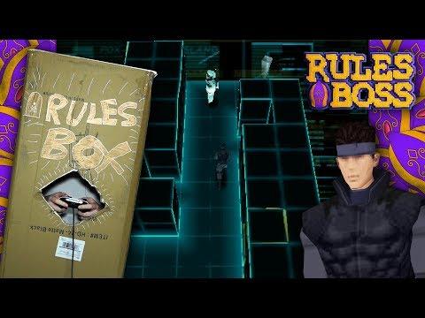 """CARDBOARD BOX"" METAL GEAR SOLID CHALLENGE! | Rules Boss"