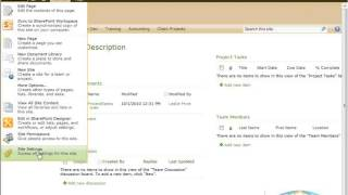 Creating Custom Site Templates in SharePoint 2010