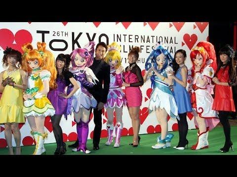 【声優動画】東京国際映画祭のグリーンカーペットを歩くプリキュアの中の人達wwwwww