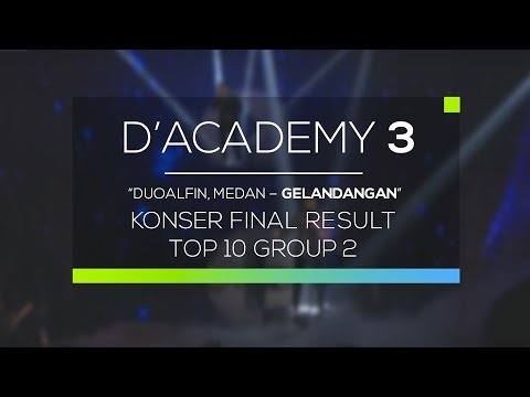DuoAlfin, Medan - Gelandangan (D'Academy 3 Konser Result Top 10 Group 2) Mp3