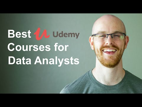 Top 10 Udemy Courses for Data Analysts - YouTube