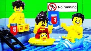 Lego Swimming Pool Fail - Lego City