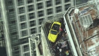 How'd a Ford Mustang get on the Empire State Building?