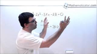 Kubická rovnice