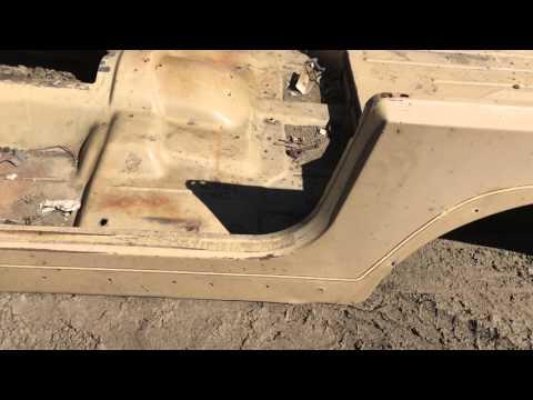 1987-1995 Jeep Wrangler YJ Tub will work on 1976-1986 Jeep CJ7 CJ-7 Body as well For Sale