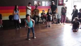 Justice Crew entertained by Dance Studio 101 Kids Hip Hop