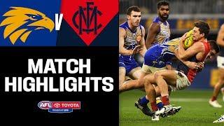 Pulsating Preliminary Final Rematch | West Coast V Melbourne Highlights | Round 9, 2019 | AFL