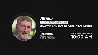[LIVE] How to Achieve Proper Grounding - Rick Hartley - Expert Live Training (US)