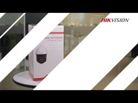 Instalación de Domo PTZ Hikvision
