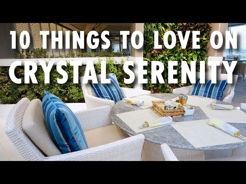 Crystal Serenity Experience: 10 Things to Love Onboard ~ Crystal Cruises ~ Cruise Review