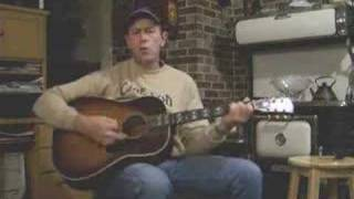 """Cover Merle Haggard """"If We Make It Through December"""" sung by Allan"""