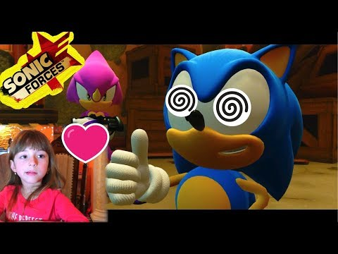 Прохождение Sonic Forces. Обзор игры Часть 4. Смотреть для детей 6+