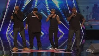 America's Got Talent 2016 Linkin' Bridge Not Your Dad's Barbershop Quartet Full Audition Clip S11E01
