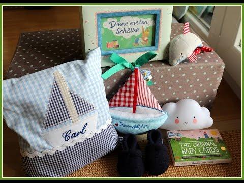 Geschenke zur Geburt   Baby Jungen Haul   gabelschereblog