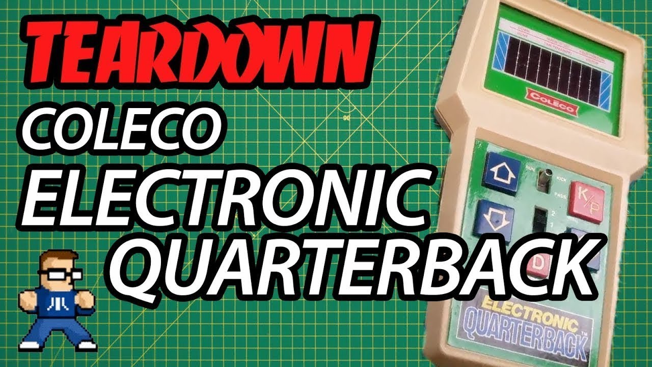 Coleco Electronic Quarterback Teardown