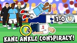 🚑KANE INJURY CONSPIRACY!🚑 1-0 Spurs Vs Man City (Champions League Parody 2019)