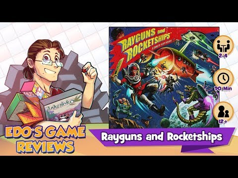 Edo's Rayguns and Rocketships Review