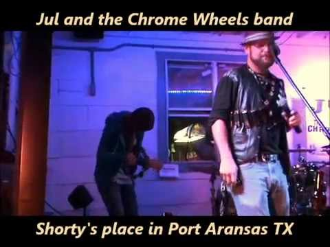 """True Blood"" intro song covered by"" The Chrome Wheels Band"" with sweet harmonica solo"