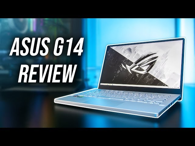 """ASUS G14 Review - 8 Core 4900HS in 14""""?!"""