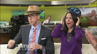 Whats Brewing: Ice Ice Starbucks And Kentucky Derby Hats