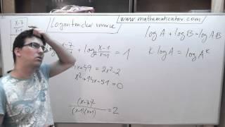 Logartimická rovnice