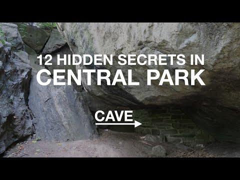 12 HIDDEN SECRETS in Central Park   New York City