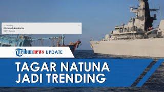 #NatunaBukanNacina Menjadi Trending Nomor Dua di Twitter