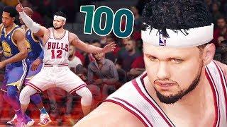 МАКС-ПУЛЯЛКА!!! 100 ОЧКОВ ПРОТИВ ГСВ! ● NBA Live 18 The One ● КАРЬЕРА #16