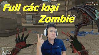 Chơi Full Tất Cả Các Loại Zombie Trong Map Hoàng Lăng - Tiền Zombie v4
