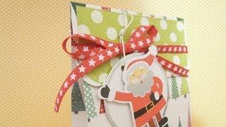 Cómo hacer una bolsa de papel para regalo. DN8- 2013